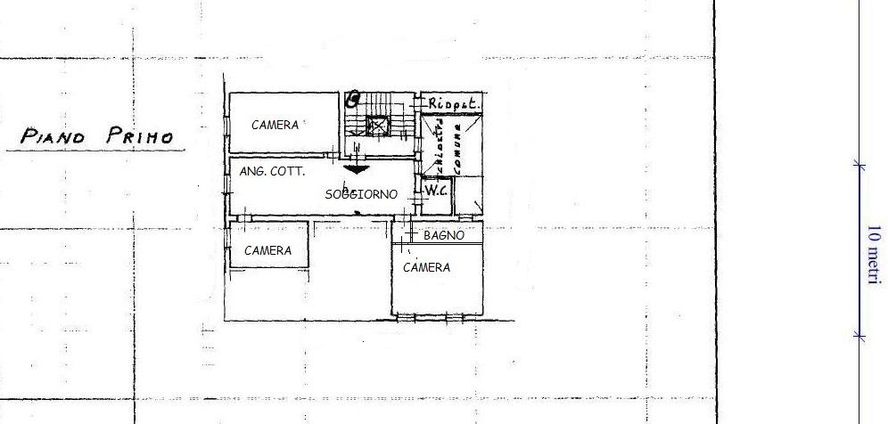 Planimetria 1/1 per rif. A258