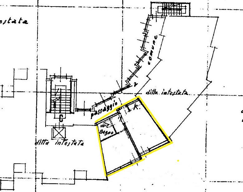 Planimetria 1/1 per rif. A042
