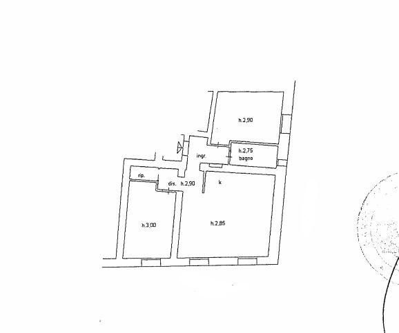 Planimetria 1/1 per rif. A351