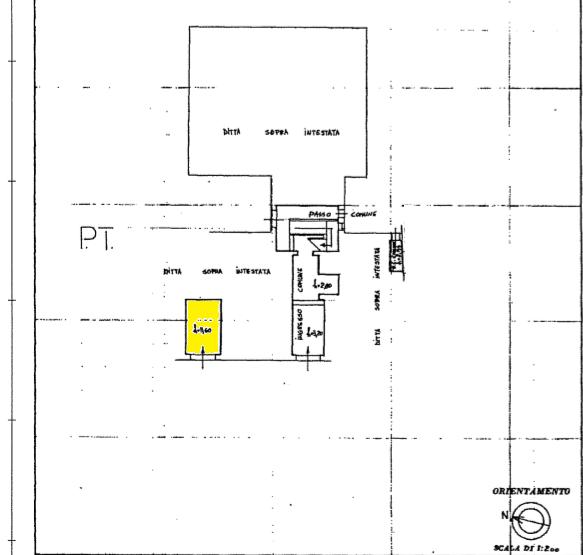 Planimetria 1/1 per rif. AFC044