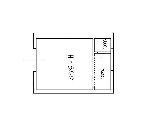 Planimetria 1/1 per rif. AFC025