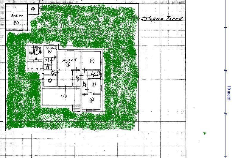Planimetria 1/2 per rif. 390