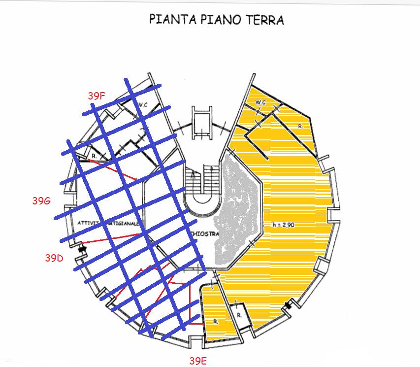 Planimetria 1/1 per rif. AFA001