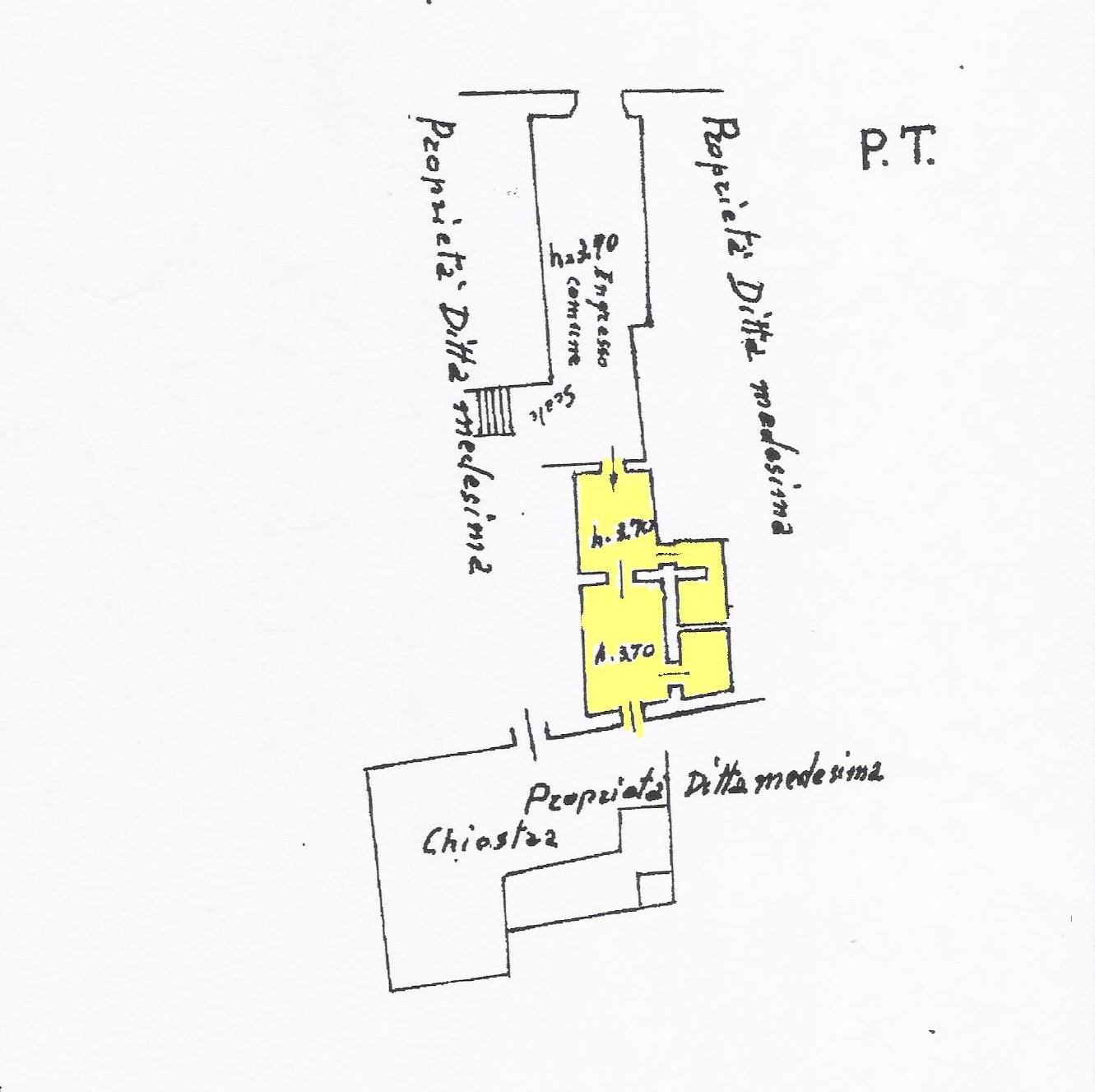Planimetria 1/1 per rif. AUF003