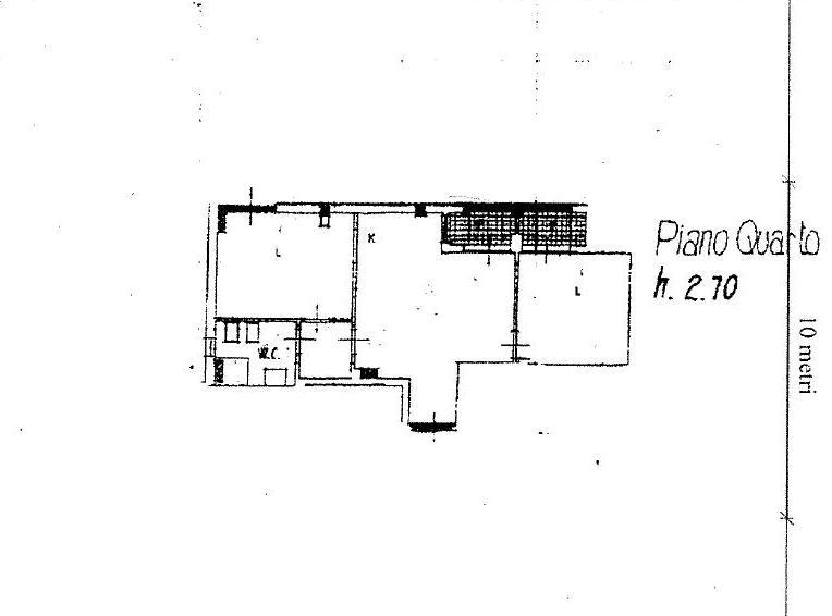 Planimetria 1/1 per rif. A404