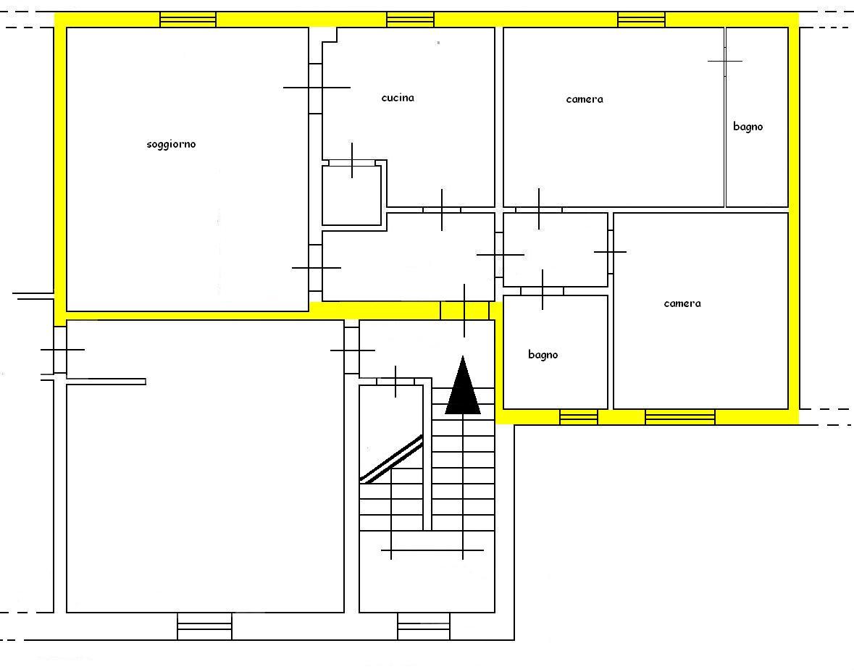 Planimetria 1/1 per rif. 443