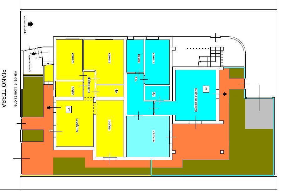 Planimetria 1/1 per rif. 444