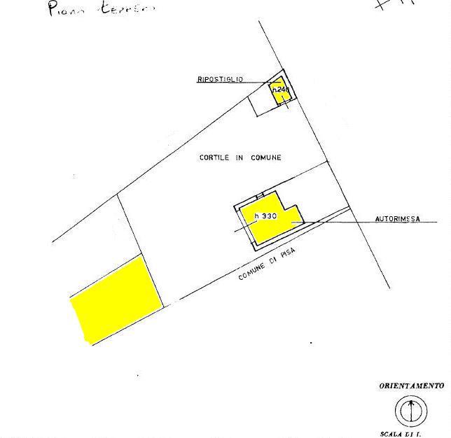 Planimetria 2/2 per rif. 445