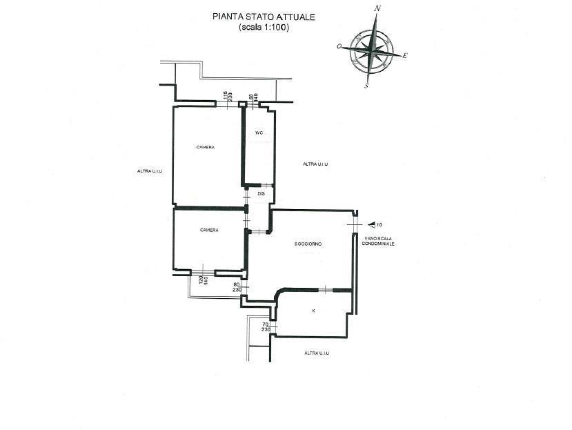 Planimetria 1/1 per rif. 124