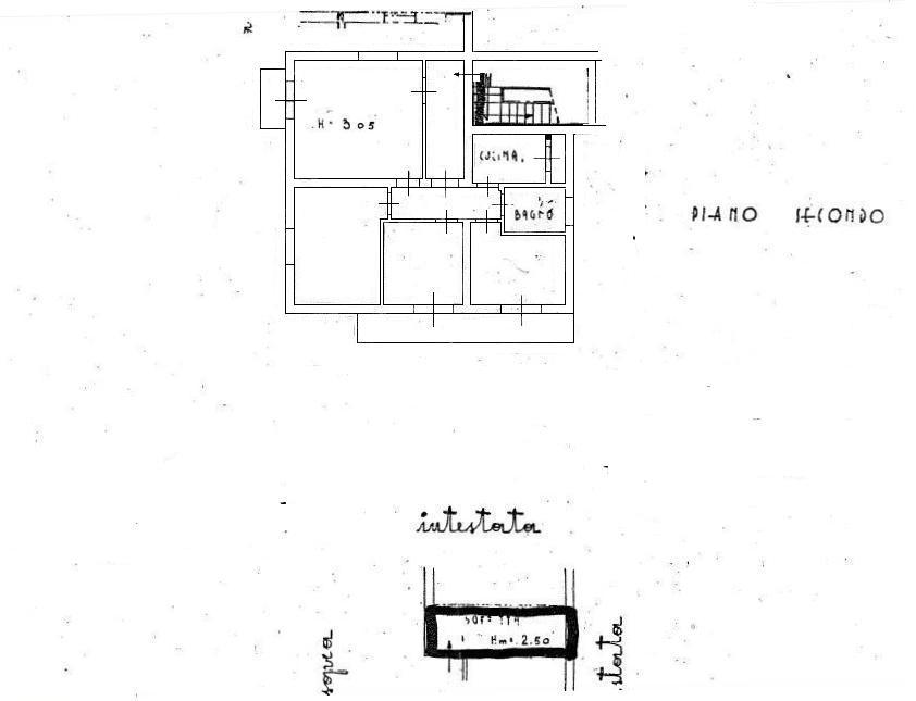 Planimetria 1/1 per rif. 455