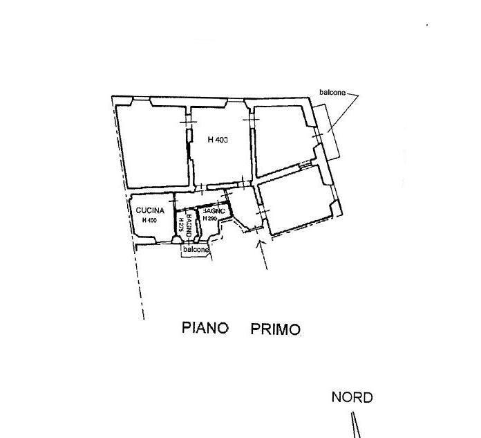Planimetria 1/1 per rif. A307