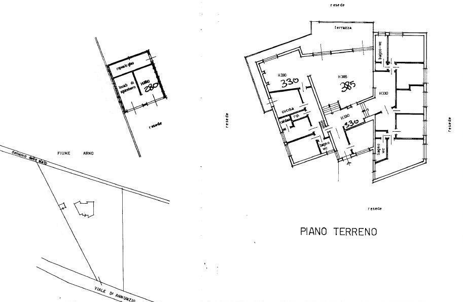 Planimetria 1/1 per rif. 468
