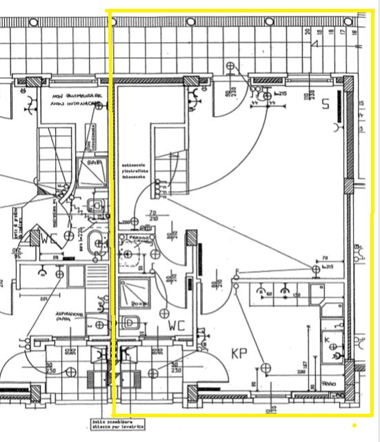 Planimetria 1/2 per rif. 472
