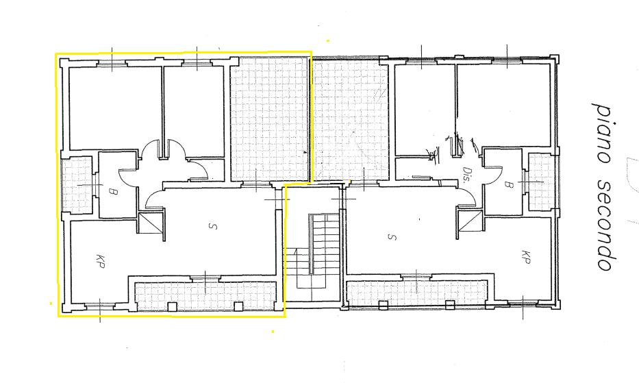 Planimetria 1/2 per rif. 473
