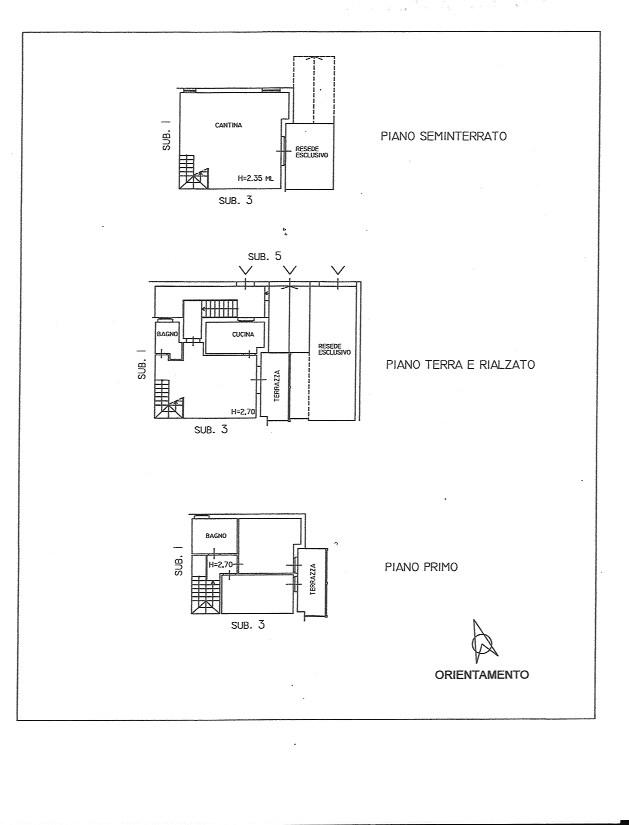 Planimetria 1/1 per rif. 486