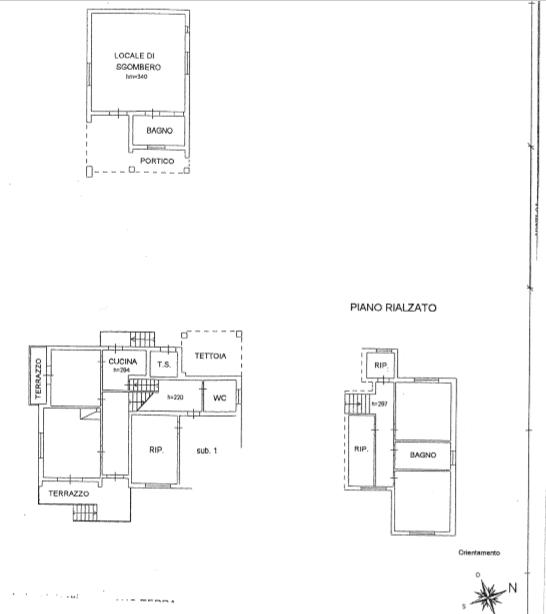 Planimetria 1/1 per rif. 484