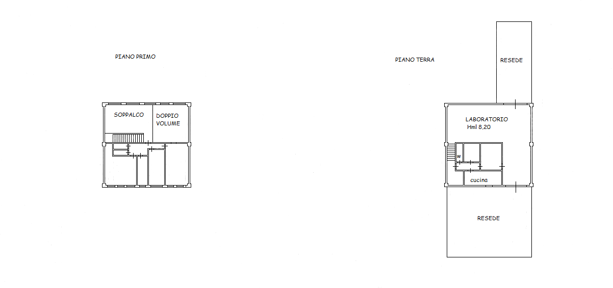 Planimetria 1/1 per rif. VFA008