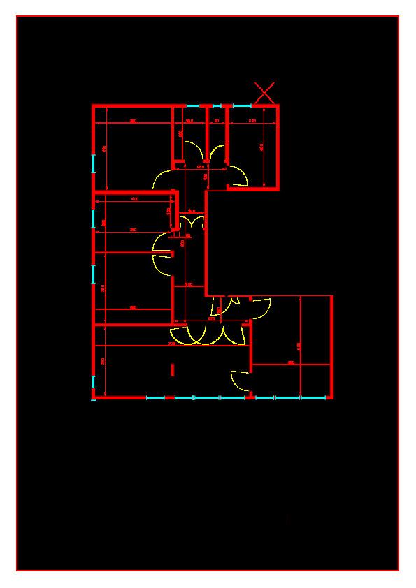 Planimetria 1/1 per rif. A423