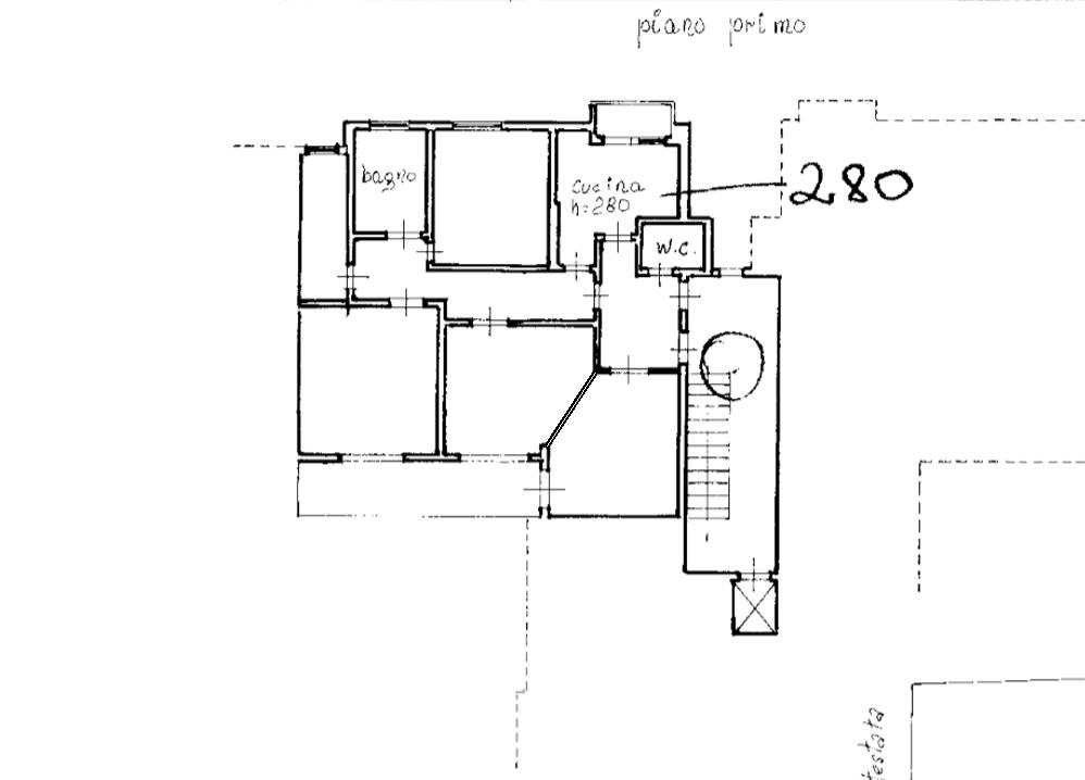 Planimetria 1/1 per rif. A425