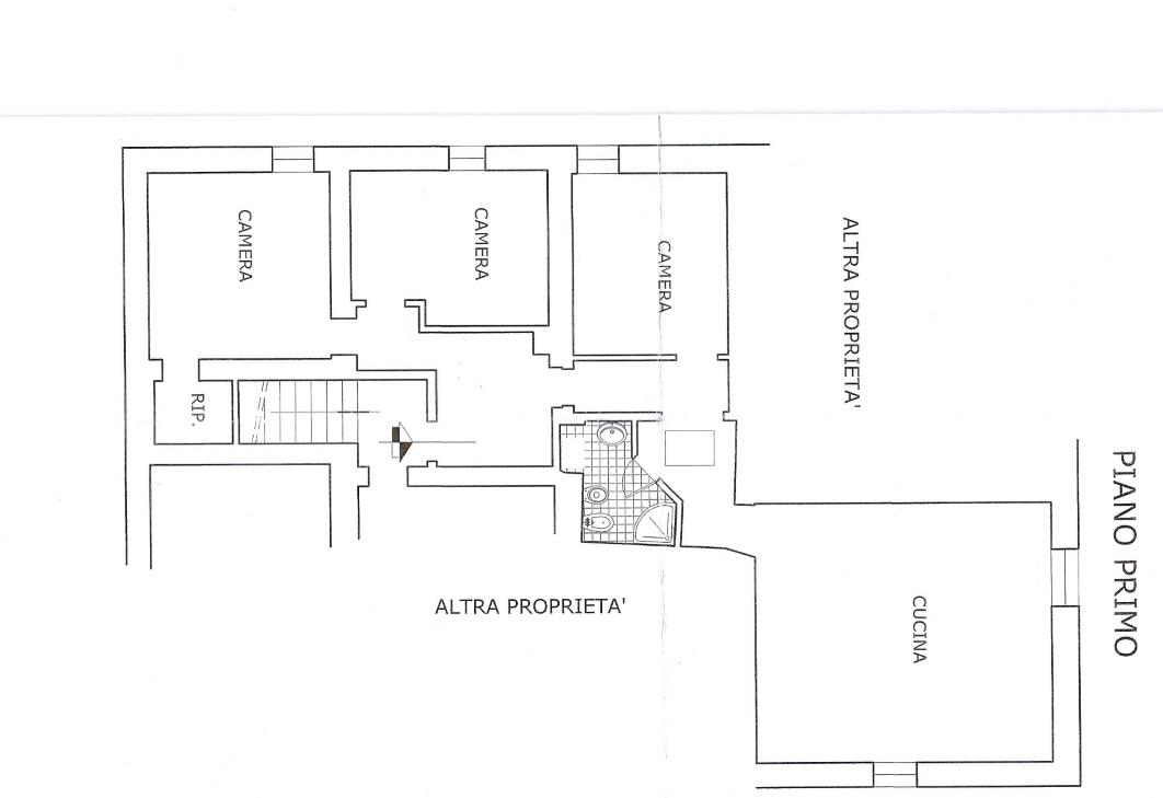 Planimetria 1/2 per rif. 491