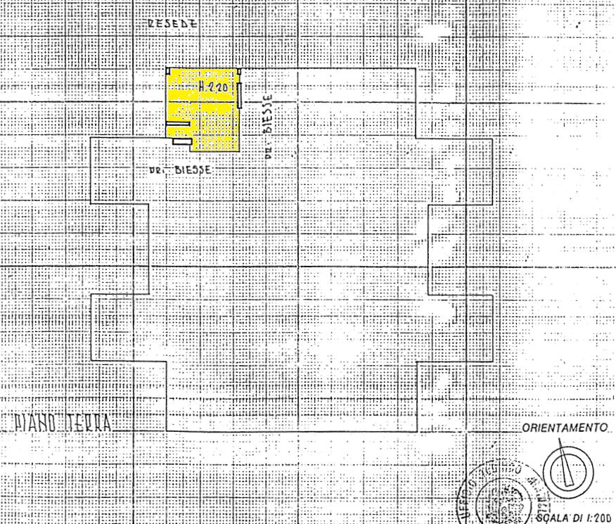 Planimetria 2/2 per rif. A428