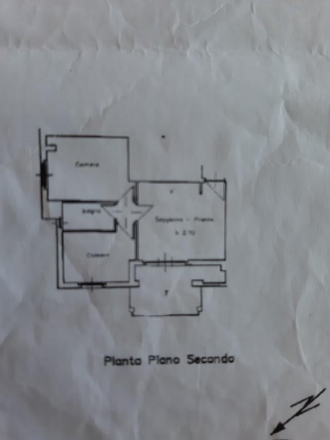 Planimetria 1/1 per rif. 492