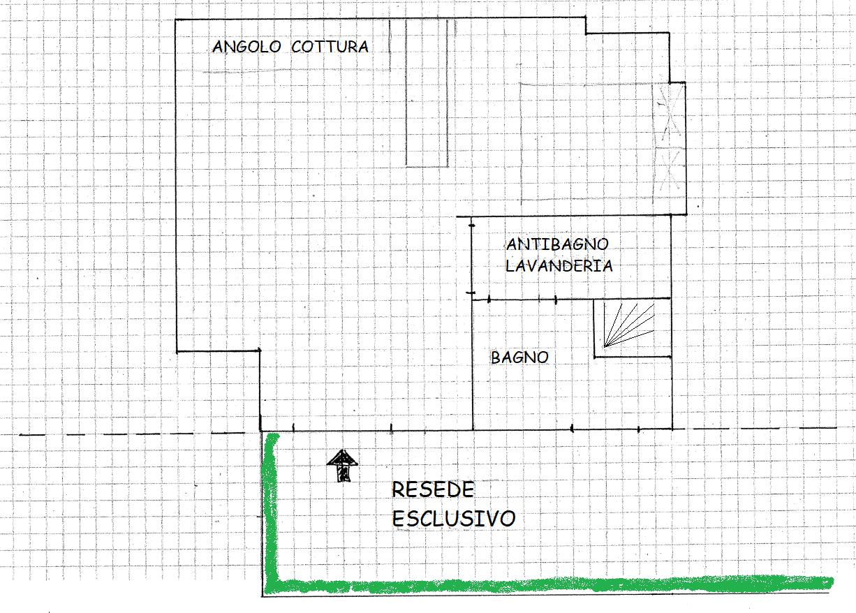 Planimetria 1/1 per rif. A431