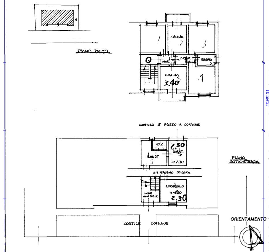 Planimetria 1/1 per rif. 494