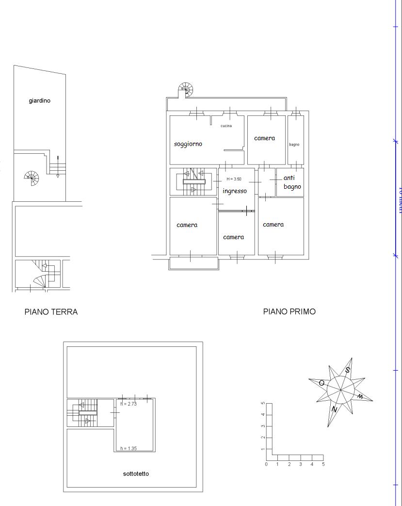 Planimetria 1/1 per rif. A435