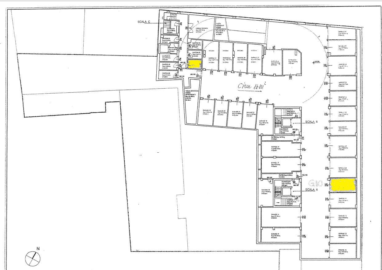 Planimetria 2/2 per rif. 496