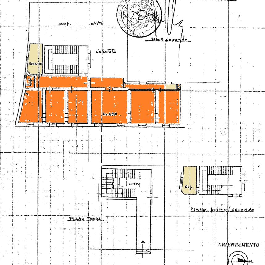 Planimetria 1/1 per rif. NC498