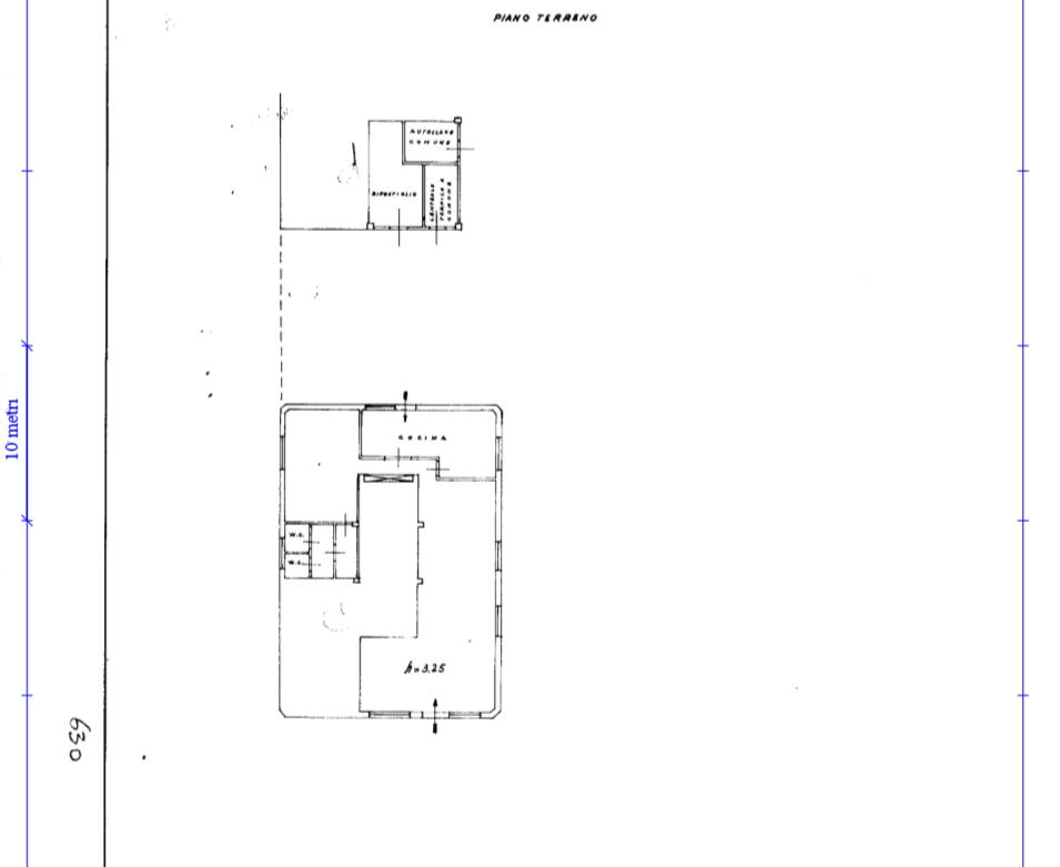 Planimetria 1/1 per rif. AFC050