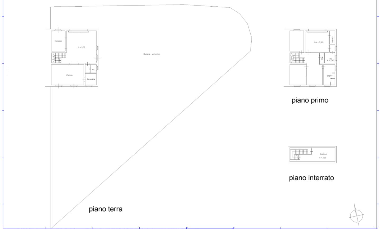 Planimetria 1/1 per rif. 509