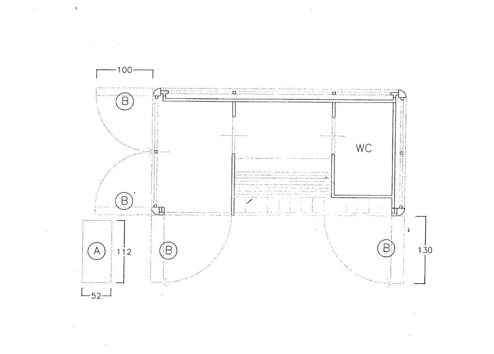 Planimetria 1/1 per rif. VAC014