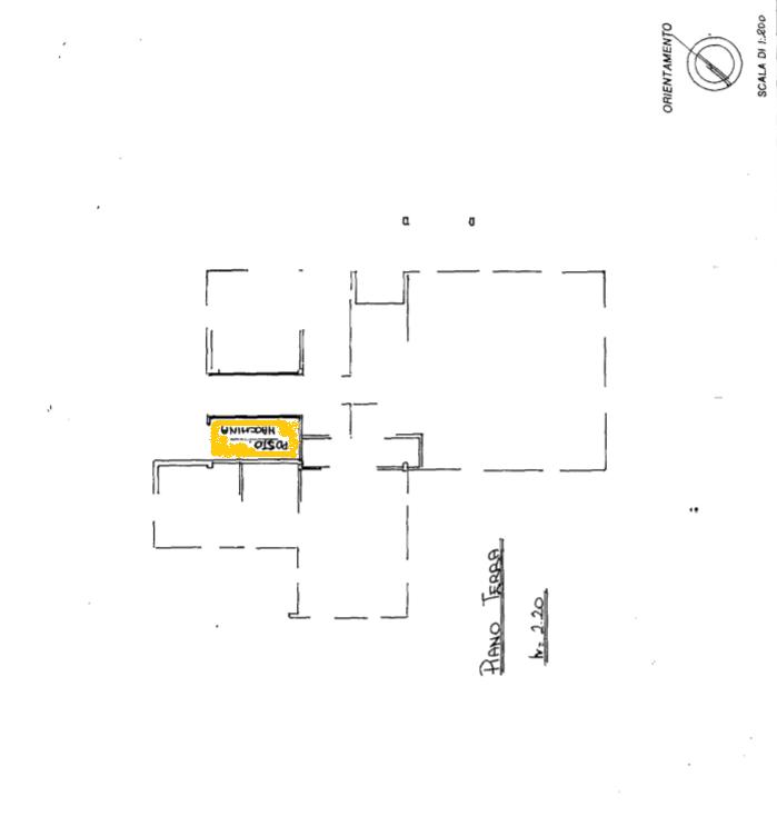 Planimetria 1/1 per rif. APA001