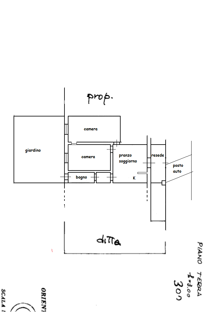 Planimetria 1/1 per rif. 510