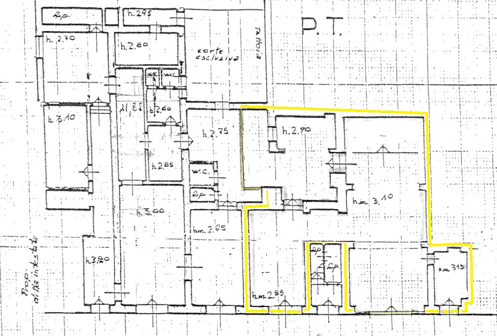 Planimetria 1/1 per rif. VFC022