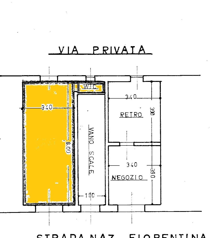 Planimetria 1/1 per rif. AFC052