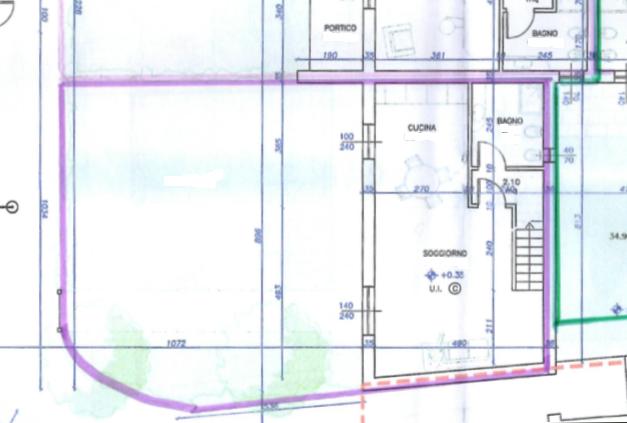 Planimetria 1/2 per rif. 505