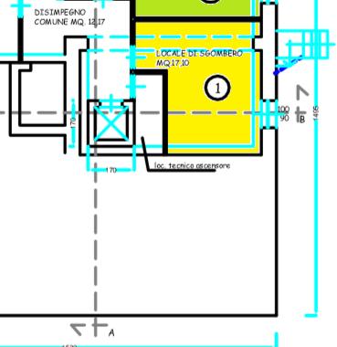 Planimetria 2/2 per rif. 513