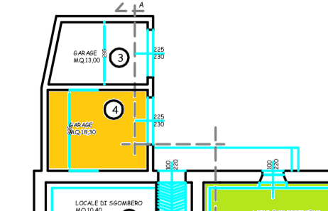 Planimetria 2/3 per rif. 514