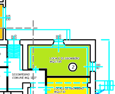 Planimetria 2/2 per rif. 515