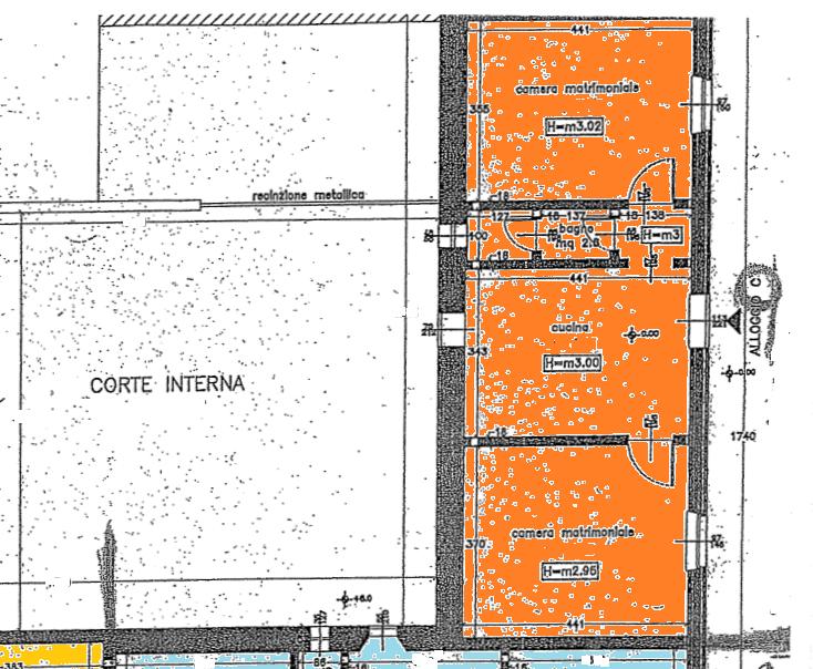 Planimetria 1/1 per rif. 516