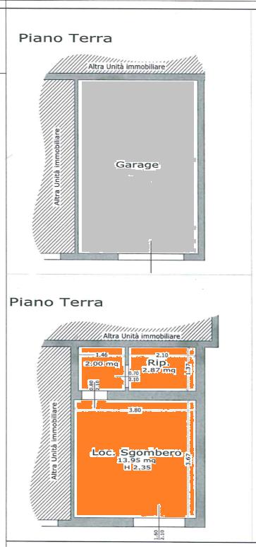 Planimetria 2/3 per rif. 520