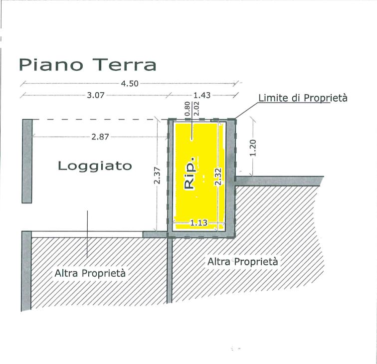 Planimetria 3/3 per rif. 520