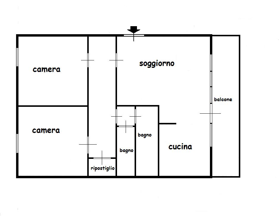 Planimetria 1/1 per rif. 521