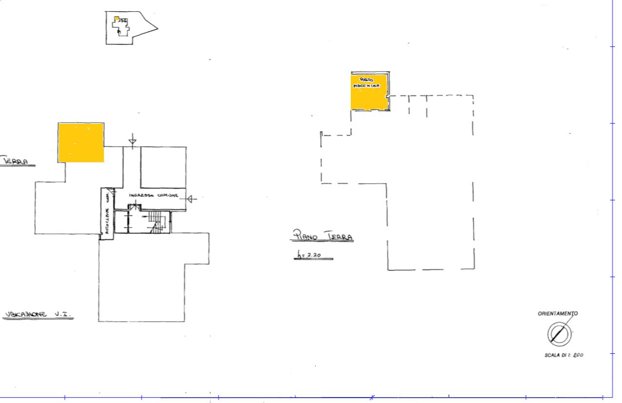Planimetria 1/1 per rif. APA002