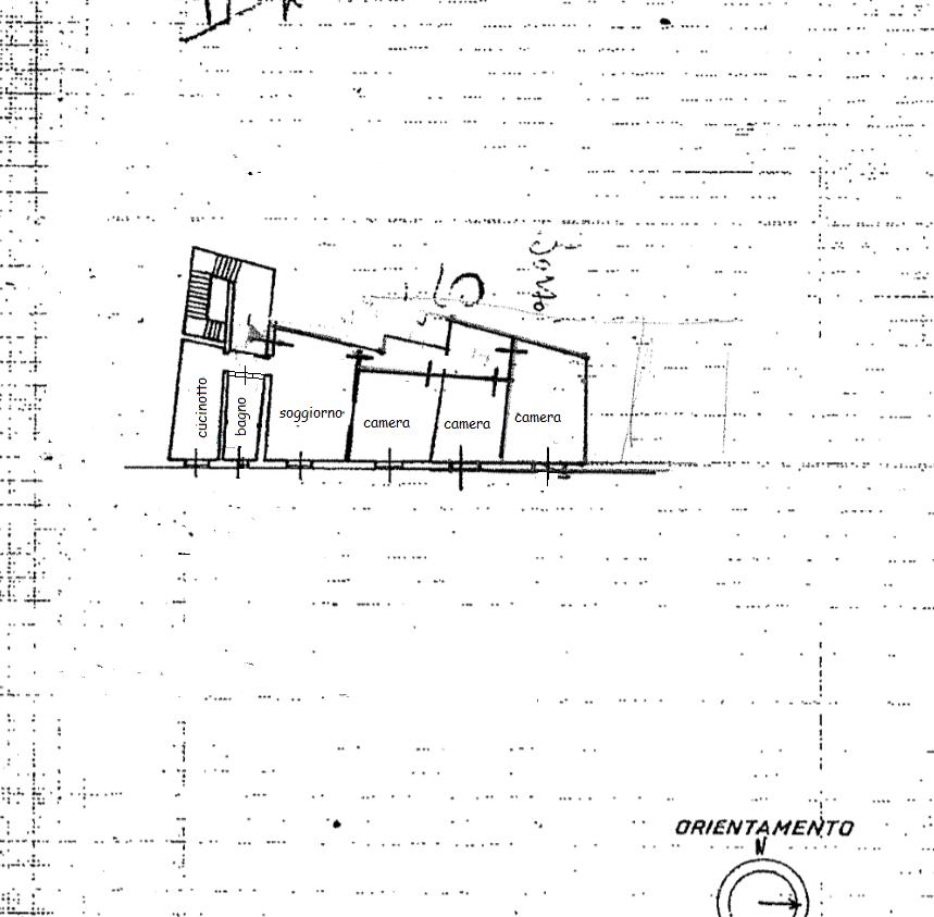 Planimetria 1/1 per rif. A446
