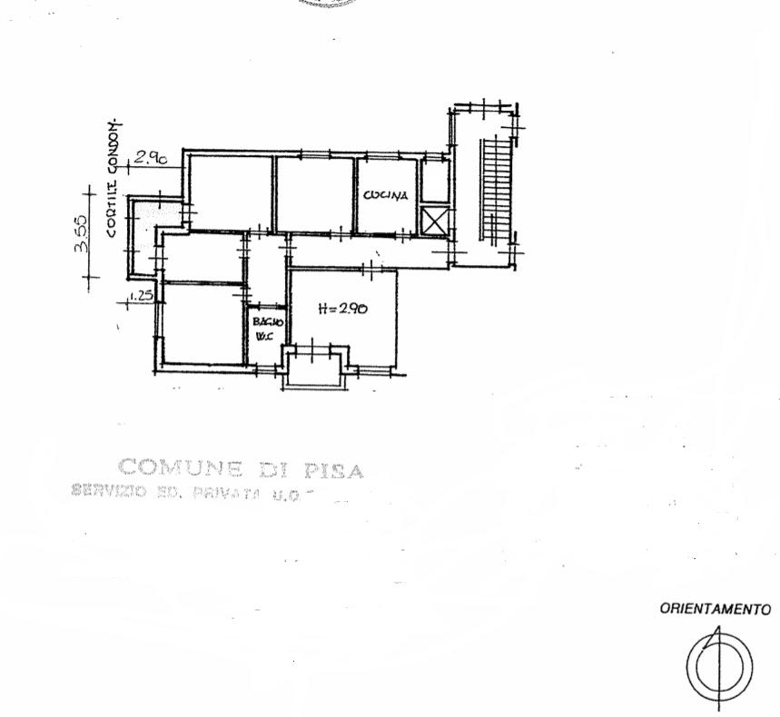Planimetria 1/1 per rif. 526