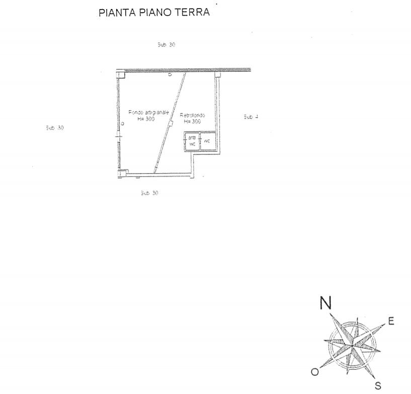 Planimetria 2/2 per rif. AUF027